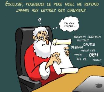Lettre au Père Noël - Clément Clem Quaquin - Licence Art Libre