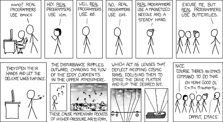 xkcd: Real Programmers