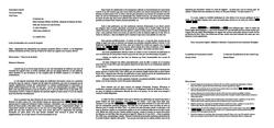 Lettre de signalement à l'ordre des avocats