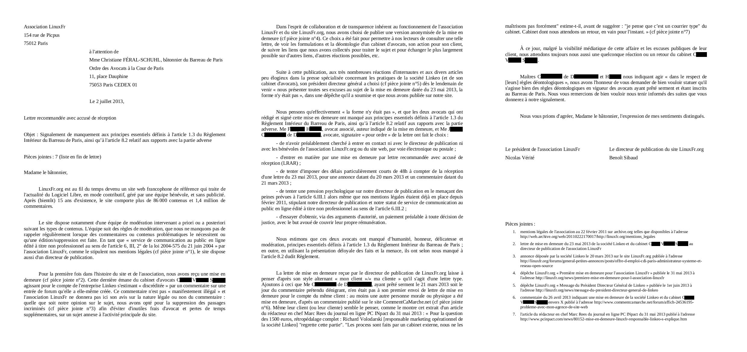modele lettre officielle avocat