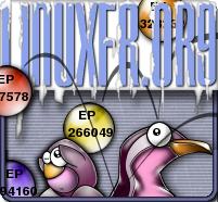 Logo LinuxFr.org à la FB version brevets logiciels